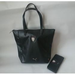 Kabelka + peněženka Puma Ferrari LS Schopper černá