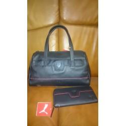 Peněženka a kabelka Puma Ferrari černá