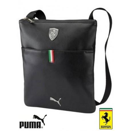 Taška přes rameno Puma Ferrari černá