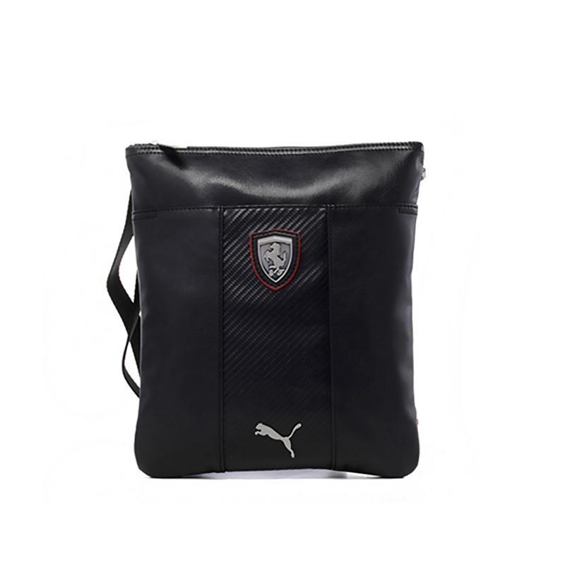 Taška přes rameno Puma Ferrari černá - PumaFerrari.eu 2f0b1feaaf0