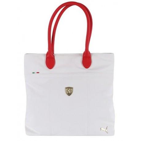 Kabelka Puma Ferrari LS Schopper bílá